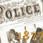 historical image of police news